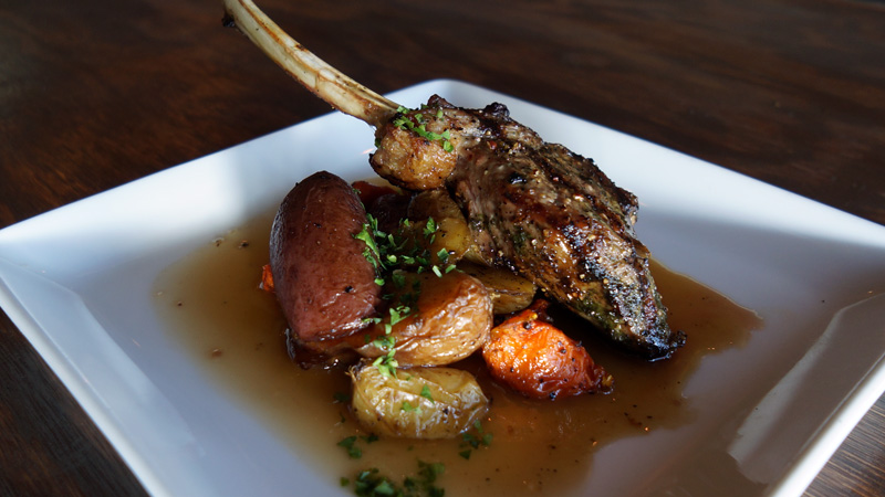 Grilled New Zealand Lamb Chop