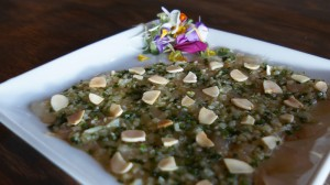 Pink Snapper Carpaccio